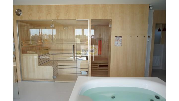 Domowe SPA z sauną fińską i sauną Infrared